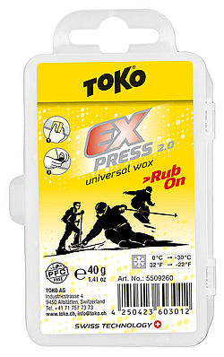 TOKO Express Rub-On, vorne