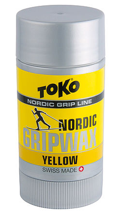 [Translate to francais:] TOKO Nordic GripWax yellow