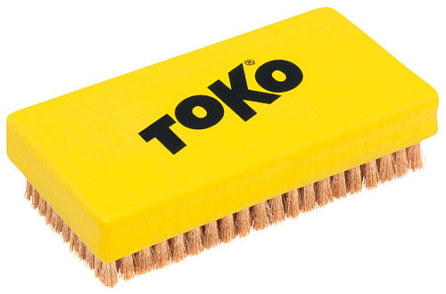 TOKO Base Brush Copper, front