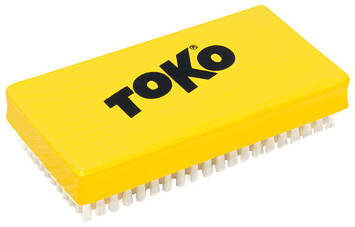 TOKO Polishing Brush, front