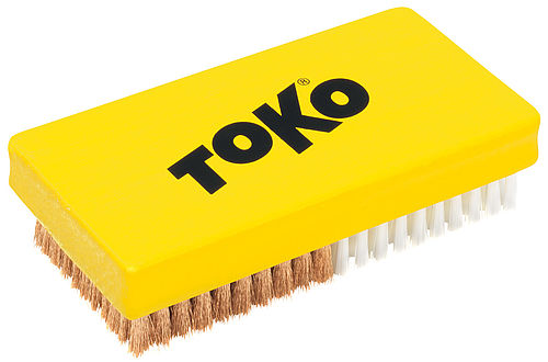 [Translate to francais:] TOKO Base Brush Combi Nylon/Copper, front